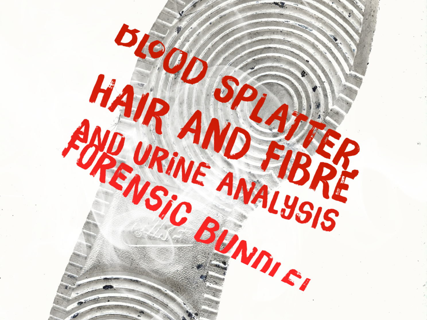 Forensic Murder Mystery Project (bloodsplatter, hair and fibre and urine analysis) - KS3/KS4 Science and STEM