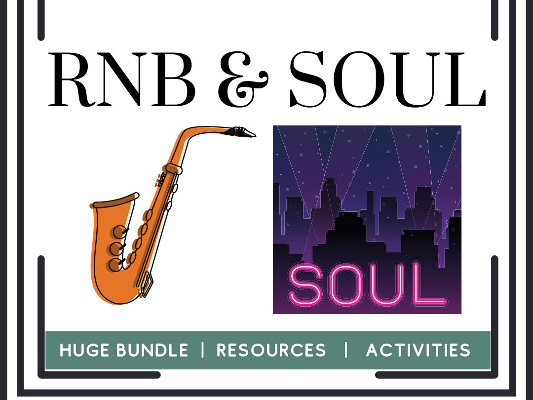 RnB Soul, Rap, and Jazz music bundle