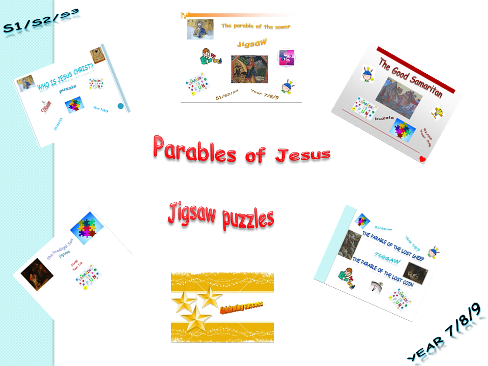 Parables of Jesus - jigsaw puzzles