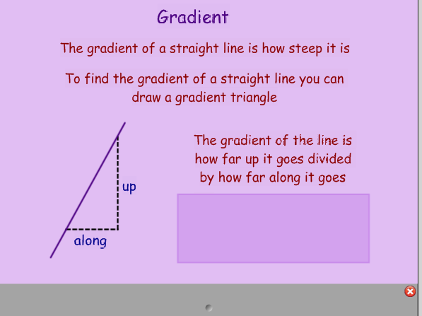 Straight Lines - Gradient, y=mx+c, Intercepts, Parallel and Perpendicular