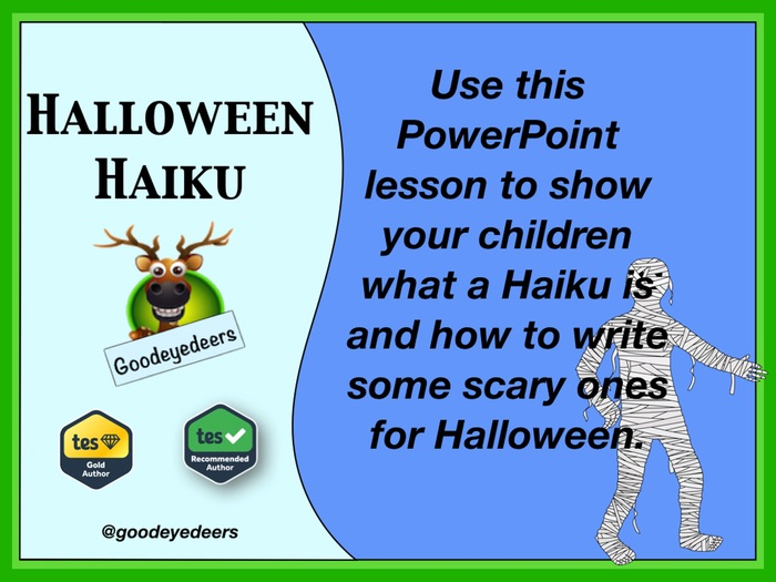 Halloween Haiku - Writing Poetry In KS2