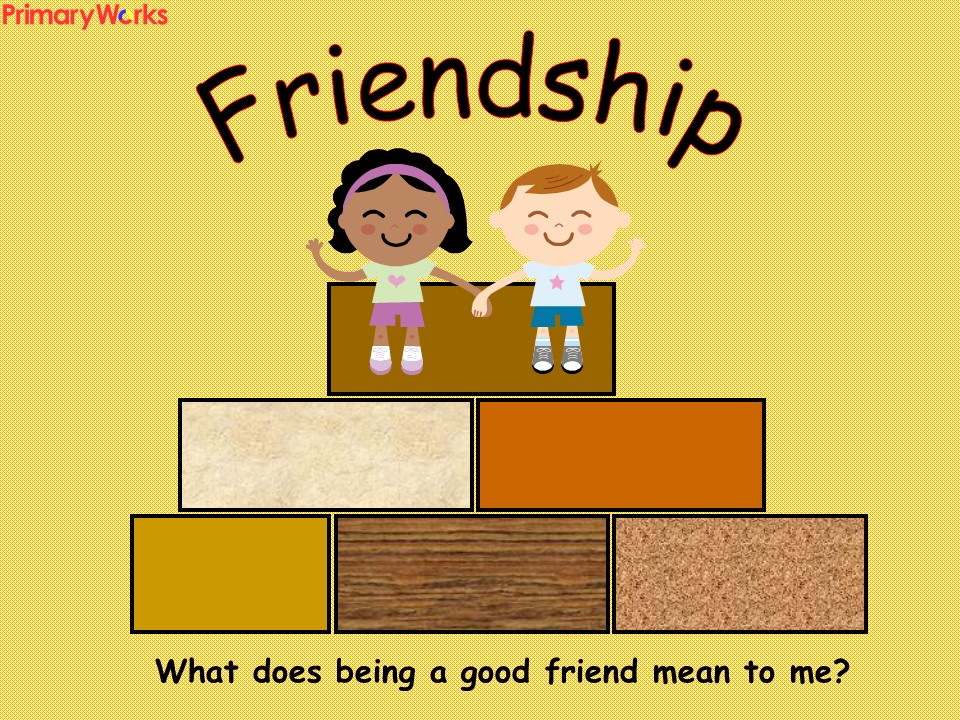 Assembly about Friendship for KS1 & KS2 primary