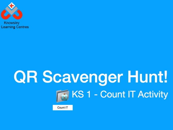 QR Code Scavenger Hunt - Count IT Activity