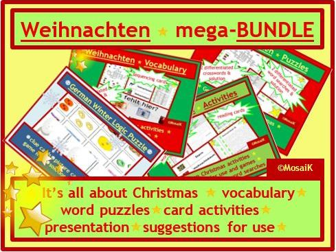 Christmas Colourful German mega-BUNDLE