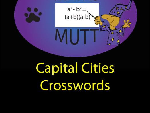 Pooch Puzzles: Capital Cities Crosswords