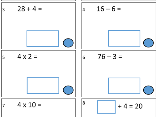 A FREE Year 3 Term 1 Arithmetic SATs Test 1