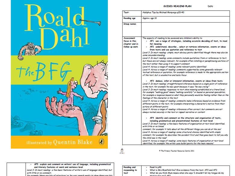 Guided Reading Plans Bundle 2