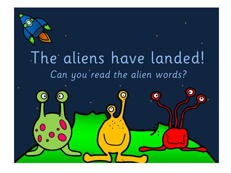 Alien Words PowerPoint