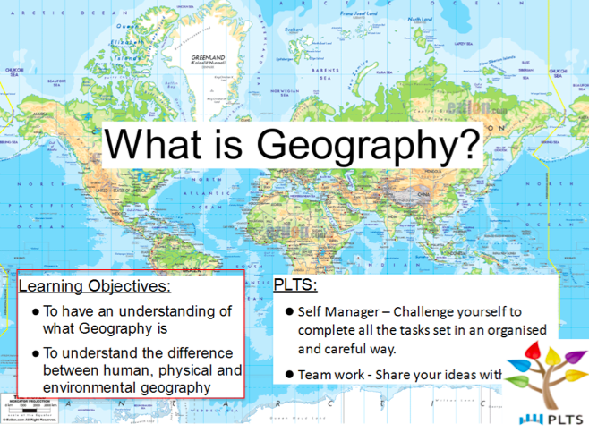 Lesson 1: What is Geography?