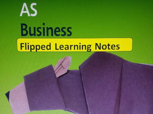Note taking pro forma (Cornell note taking format) for ALL Edexcel AS Business Theme 2 Topics