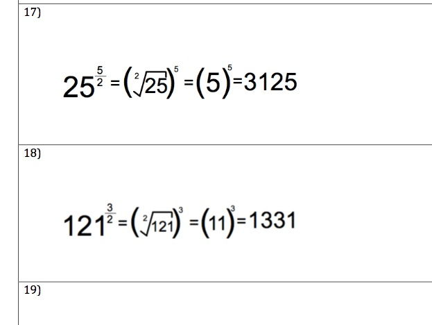 GCSE Maths - Indices - Law 7 -30 Questions and Answers