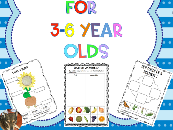 Science Printables for Early Years