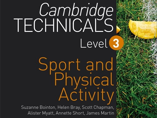 Cambridge Technicals Level 3 Sport - Unit 4 whole course