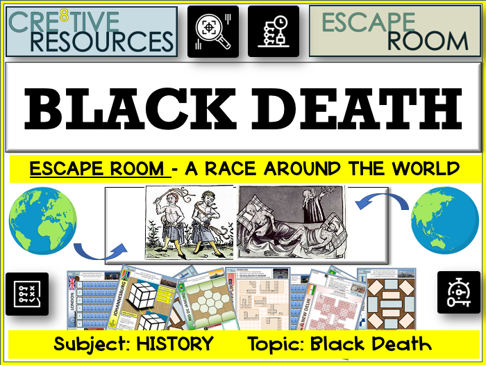 Black Death History Escape Room