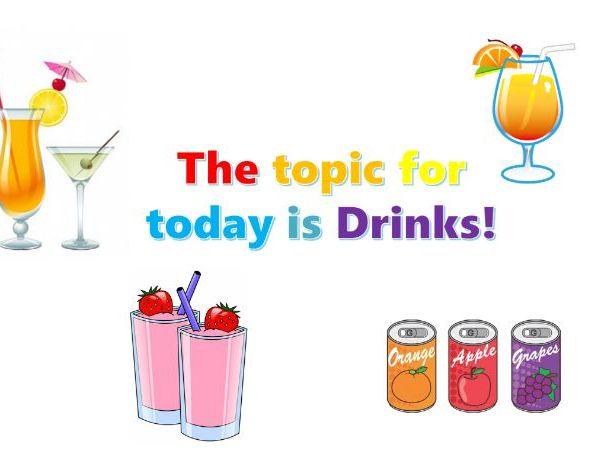 ESOL - Juice/Drinks