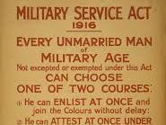 Conscription in the First World War