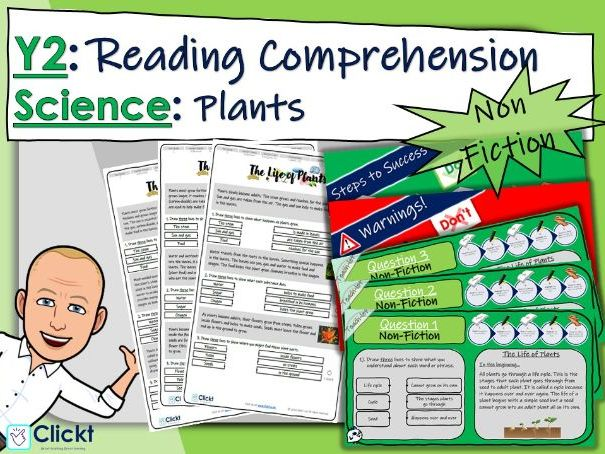 Year 2 Reading Comprehension (NON-FICTION): Science: Plants