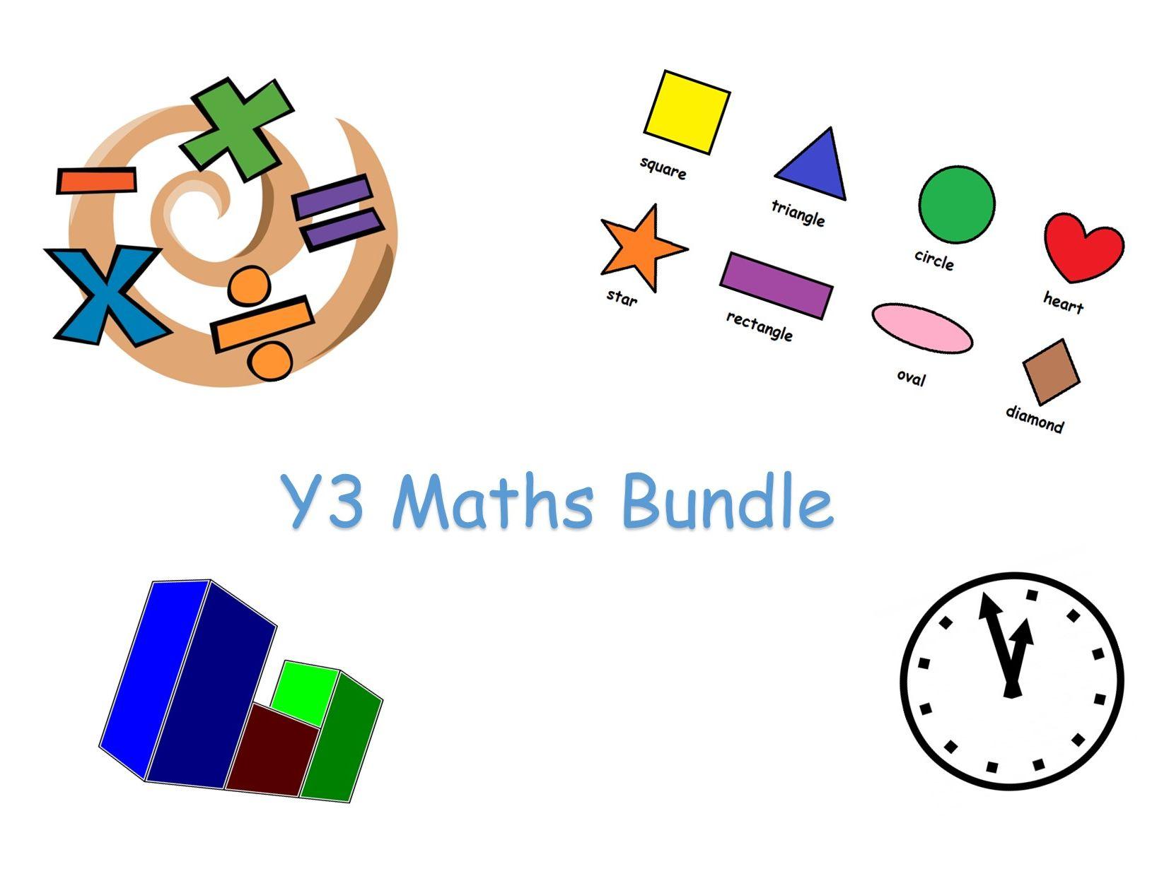 Year 3 Maths Bundle