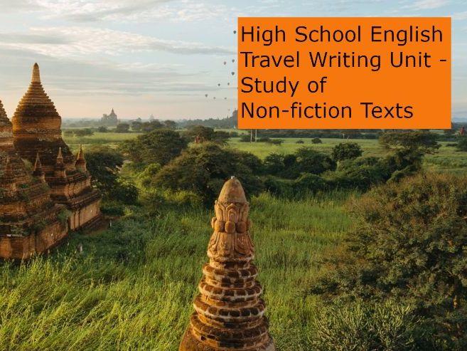 High School English: Travel Writing Unit