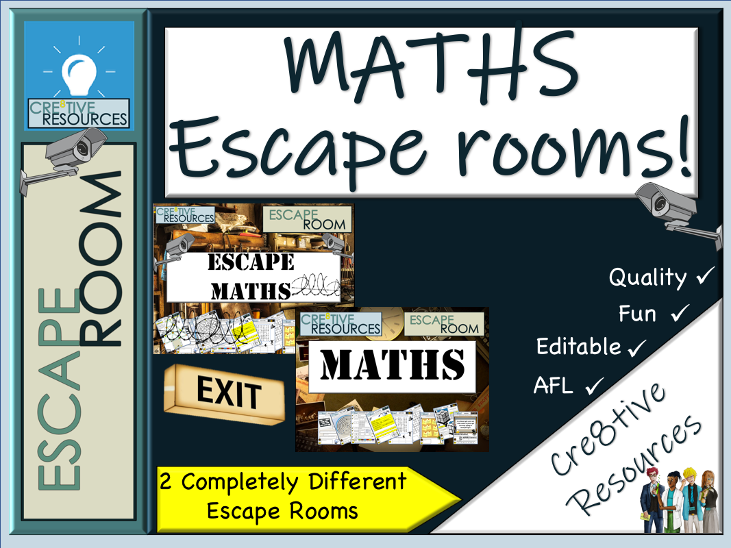 Maths escape rooms - End of Year