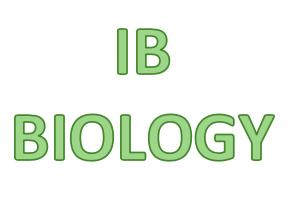 IB Biology - Ecology