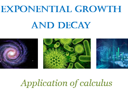 Exponential growth and decay.