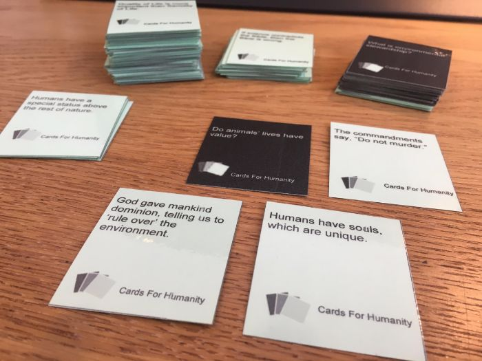 WJEC Eduqas: Cards For Humanity: Issues of Life and Death Revision Game