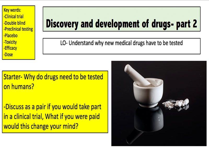 Discovery and development of drugs (Part 2)