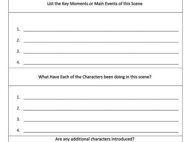 Key Moments Analysis Worksheet