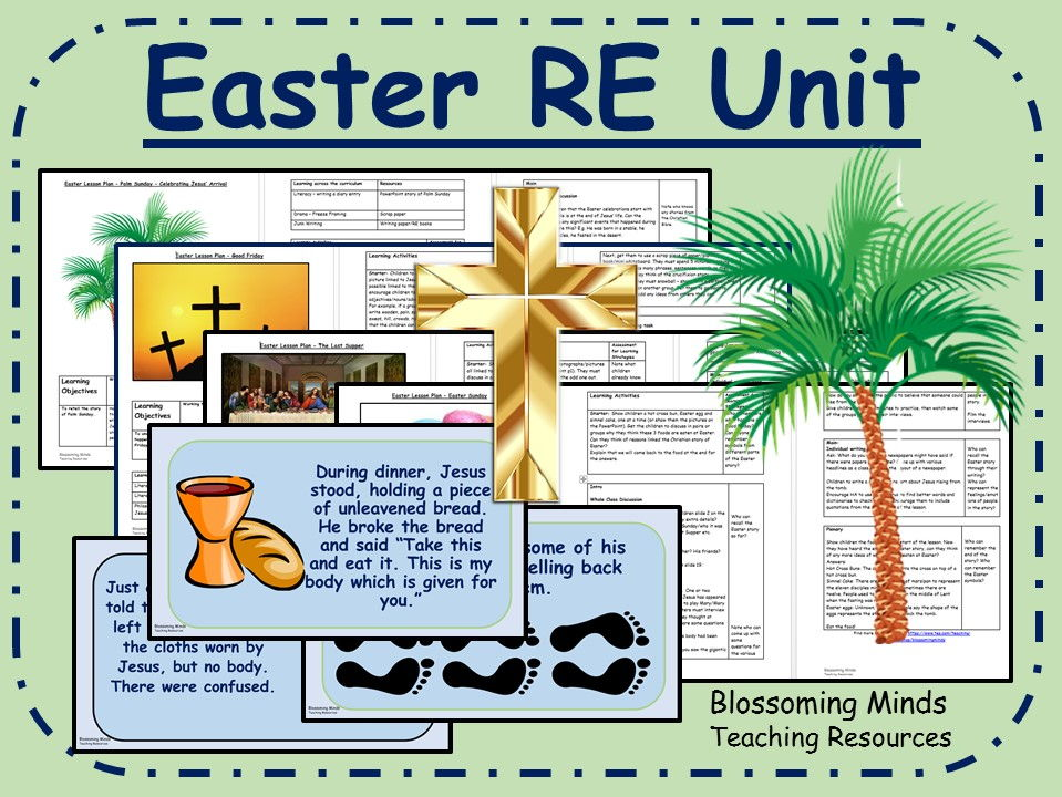 Easter RE 4 week unit (Holy Week)