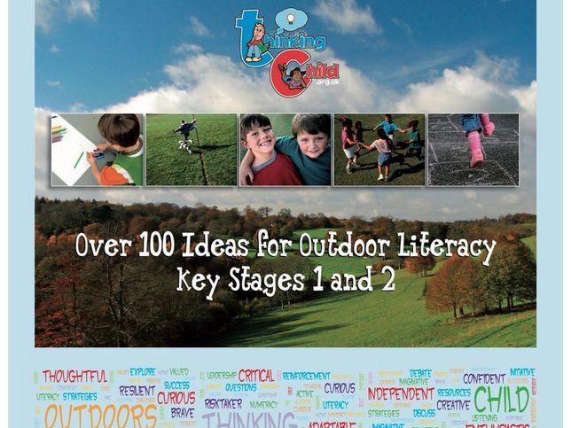 Outdoor Literacy Lesson Ideas - Verbs, Adjectives - KS1 & KS2