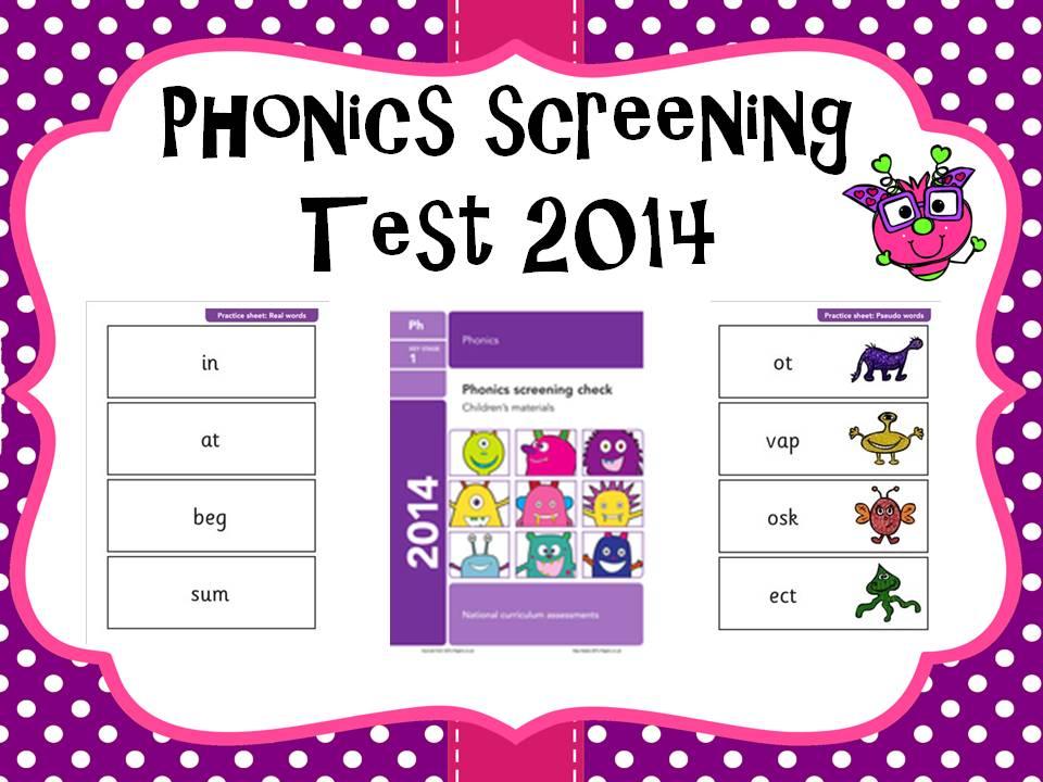 2014 Phonics screening