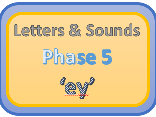 Letters & Sounds Phase 5 'ey'