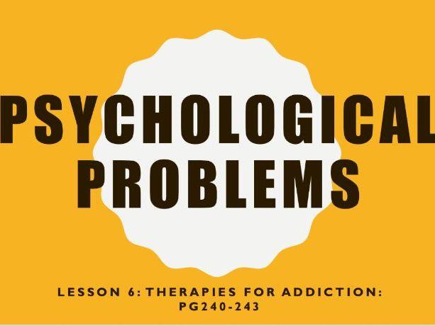 AQA GCSE Psychology (New Syllabus) Lesson 6 of 6