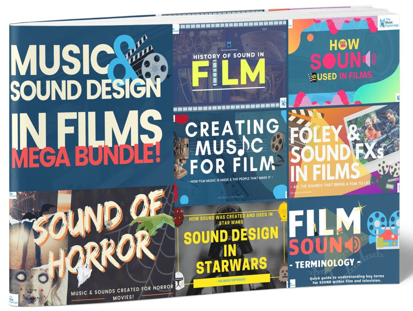 Music and Sound Design in Films - LESSON BUNDLE-with Distance Learning
