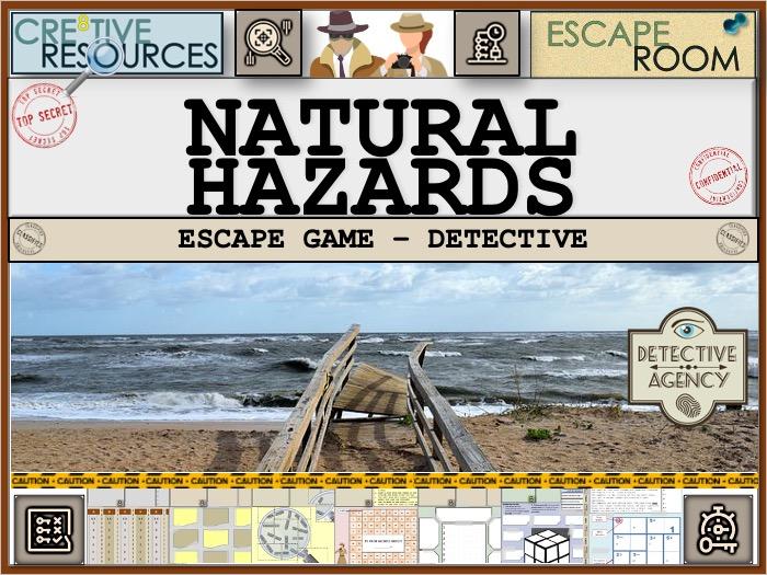 Natural Hazards - Geography Escape Room