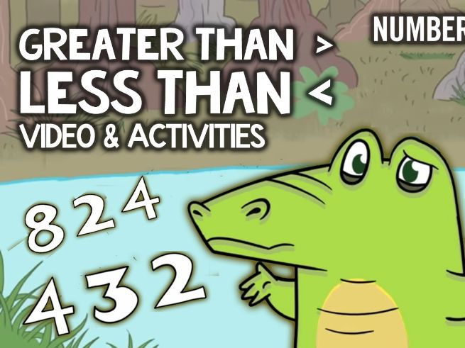 Greater Than Less Than: KS1-KS2 Multimedia Maths Activities