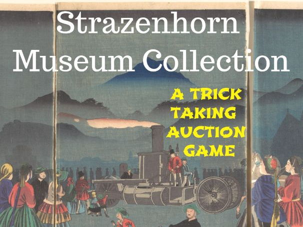 Strazenhorn Museum Collection - An auction game
