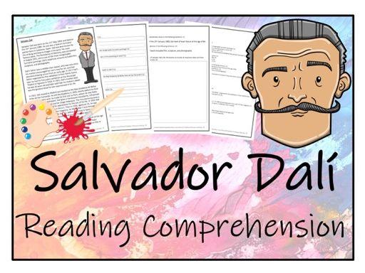 UKS2 Literacy - Salvador Dali Reading Comprehension Activity