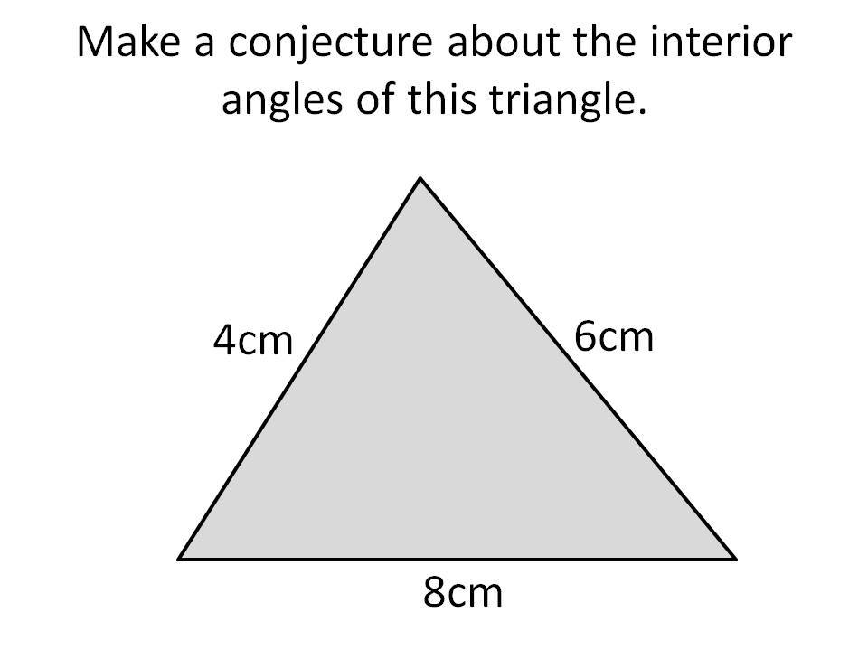 Cosine rule to find angles
