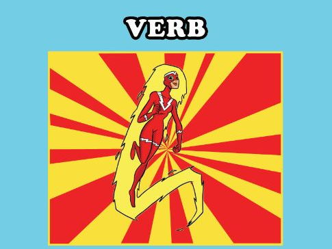 Turning Nouns Into Verbs - SPaG - Starter
