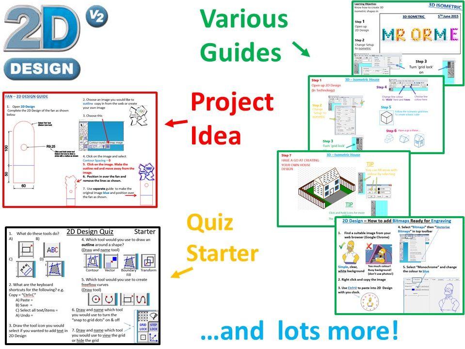 2D Design Bundle & Laser Cutting Ideas (CAD/CAM)