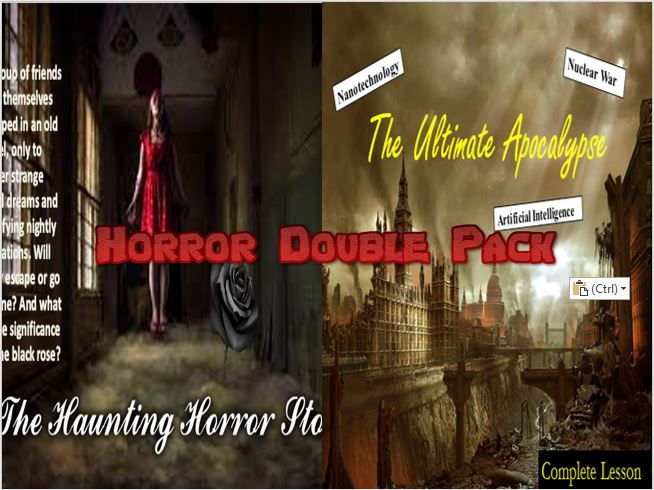 Horror Double Pack 1 - Creative Writing