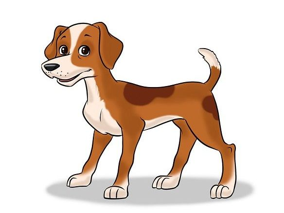 Story - Waggy the Dog - Easy-Read