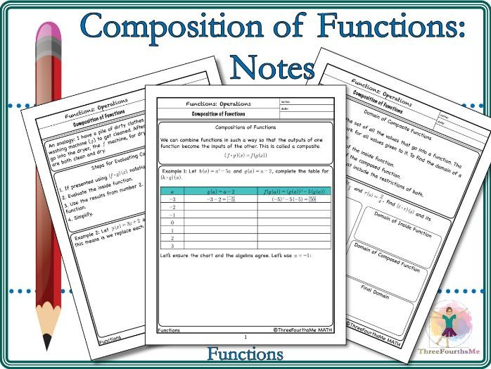 Composition of Function Notes