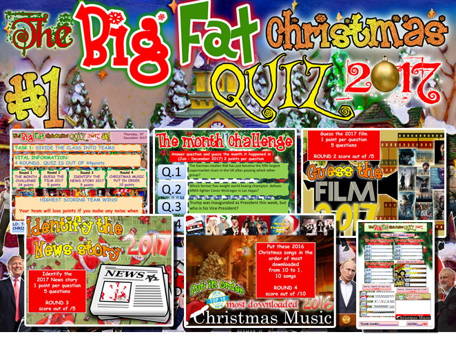 Christmas Fun 'The Big Fat Christmas quiz 2017' #1