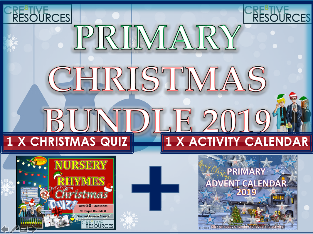 KS1 Primary Christmas Bundle