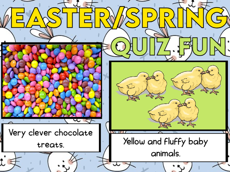 Easter / Spring Quiz EYFS and KS1