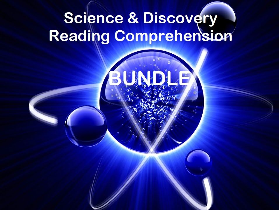 Science Reading Comprehension Bundle - Informational Texts