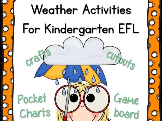 Weather Activities for Kindergarten EFL